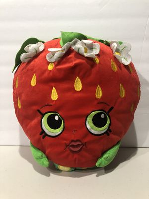 "Shopkins Large Strawberry 16"" Plush Kiss Pillow for Sale in Hayward, CA"