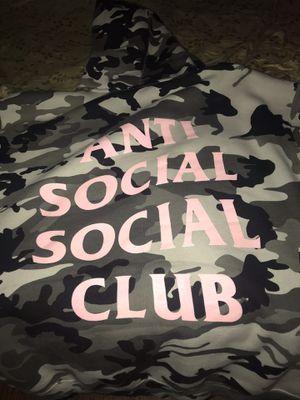 "Anti Social Social Club ""Snow Camo"" Hoodie for Sale in Los Angeles, CA"