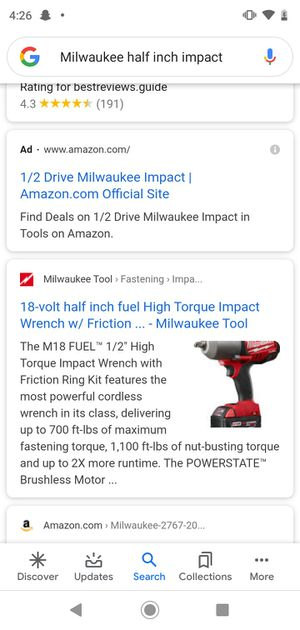 Brand new Milwaukee hammer drill never been open for Sale in Memphis, TN