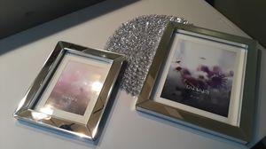 2 MIRRORED GLASS PICTURE FRAMES for Sale in La Mesa, CA