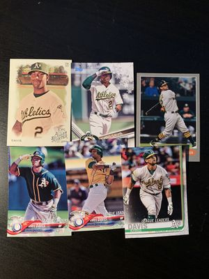 Khrush Davis Baseball Cards Oakland As for Sale in San Leandro, CA