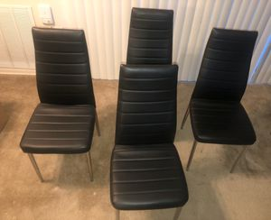 Four (4) Dining Room Chairs for Sale in Hyattsville, MD