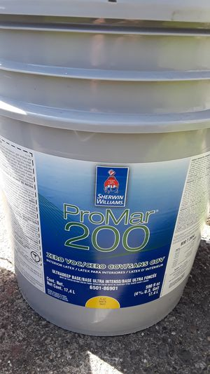 Sherwin Williams 5 gallon bucket interior green paint for Sale in Tacoma, WA
