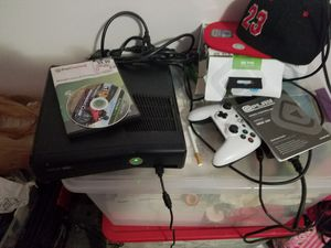 Xbox 360, Brand new controller, hookups, 1 game for Sale in Grove City, OH