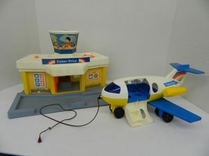 Vintage Fisher Price Little People Airport for Sale in Annandale, VA