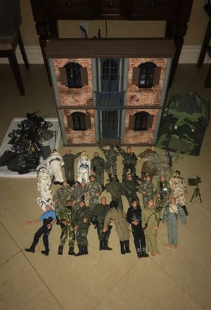 "MILITARY GI JOE 12"" ACTION FIGURE LOT for Sale in Corona, CA"