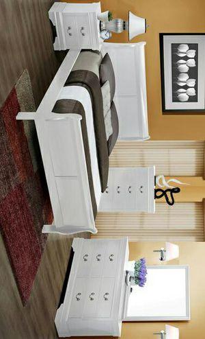Tucker SOLID WOOD Queen Size Bedroom Set |ask king size bedroom set |juego de dormitorio for Sale in Burleson, TX