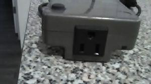 Small inverter.used for laptop in car for Sale in El Paso, TX