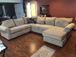 Hughes sectional couch for Sale in Fairless Hills, PA