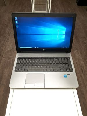 LIKE NEW HP ProBook 650 Business Class Laptop-Windows 10 Pro-Intel Core i5-8GB Ram-640GB Hard Drive for Sale in Richland Hills, TX