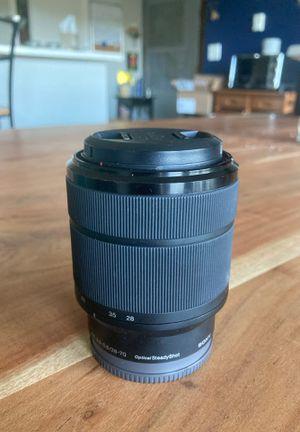 Sony FE 3.5-5.6/28-70 Lens for Sale in Seattle, WA