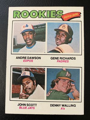 1977 Andre Dawson Rookie Topps Baseball Card #473 for Sale in Brea, CA