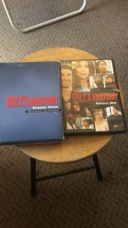 greys anatomy seasome one and three for Sale in Clarksburg,  WV