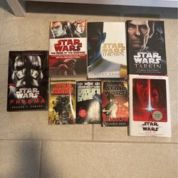 8 Star Wars Books Lot- Hard Cover And Soft Cover for Sale in Houston,  TX
