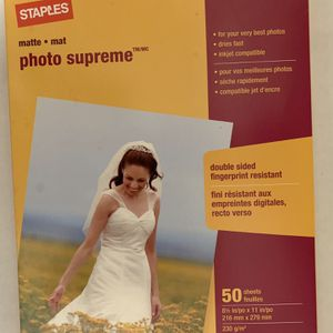 (50) - Sheets - Photo Supreme - (New) for Sale in San Rafael, CA
