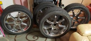 Rines 24 universal para Chevrolet,Ford,Dodge, Nissan, 6 hoyos for Sale in Houston, TX