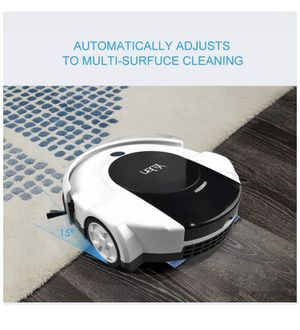 Robotic Cleaner with Drop-Sensing Technology, Vacuum and Sweeper for Hard Floor and Low-Pile Carpet, HEPA-Style Filter&Mopping Function - Cleaning Ro for Sale in Irvine, CA