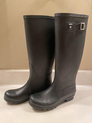 Women's Polar Black Rain Boots -Size 8 for Sale in Cleveland, TN