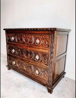 Wood Carved Dresser for Sale in Nashville, TN