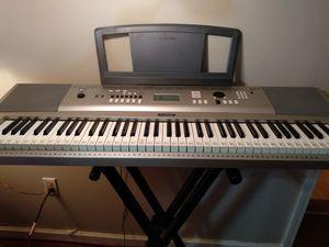 Yamaha keyboard piano for Sale in Richmond, KY