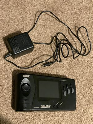 Sega Genesis Nomad Handheld console (LCD upgraded, SMS, region unlock, glass outer screen) for Sale in Arcadia, CA