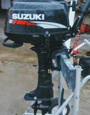 Suzuki 4 stroke 6 HP boat motot for Sale in Federal Way, WA