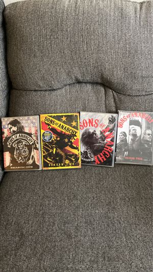 Sons of Anarchy seasons 1-4 for Sale in Norfolk, VA