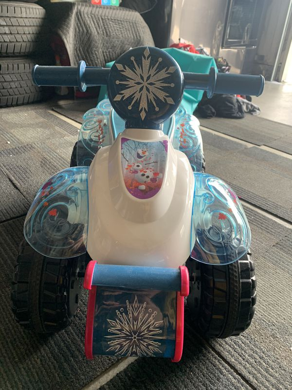 Disney Frozen Ride On Quad