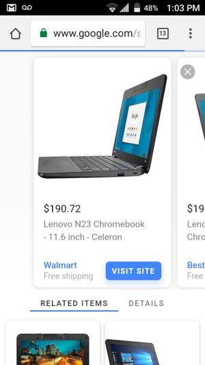 Lenovo N23 Chromebook for Sale in Philadelphia, PA
