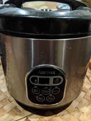 Aroma ARC-150SB 20 cup rice cooker for Sale in San Diego, CA