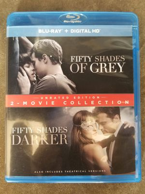 FIFTY SHADES: 2-MOVIE COLLECTION NEW BLU-RAY/DVD for Sale in Derby, KS
