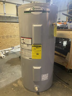 A.O. Smith Signature 50-Gallon Short 4500-Watt Double Element Electric Water Heater for Sale in Deltona, FL