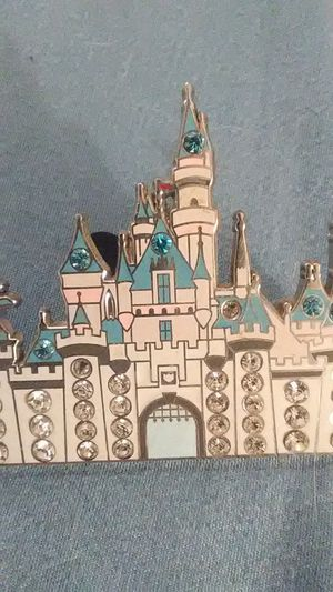 Bejeweled Sleeping Beauty Castle Pin for Sale in Modesto, CA