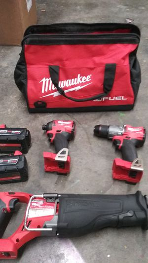 Milwaukee m18 fuel combo kit for Sale in Billings, MT