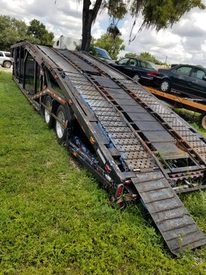 Seven cars trailer great condition must see for Sale in Tampa, FL