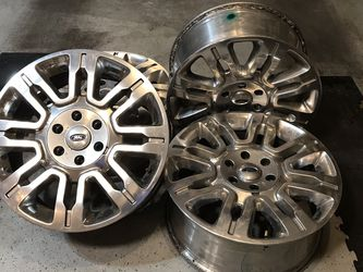 "Ford F-150 truck size 20"" rims for Sale in Olympia,  WA"