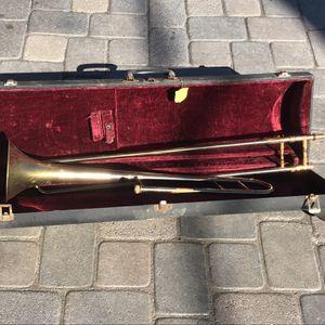 Old brass trombone Claremont Mesa for Sale in San Diego, CA
