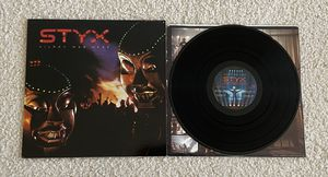 """Styx """"Kilroy Was Here"""" vinyl lp 1983 A&M Records Original 1st Monarch Pressing not a reissue beautiful like new pristine vinyl 80s Prog Rock for Sale in Laguna Niguel, CA"""