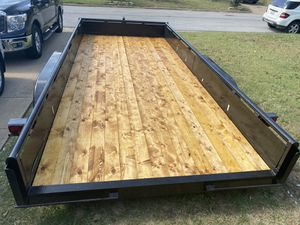 """Homemade 8'6""""x16 foot trailer for Sale in Euless, TX"""