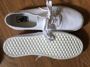 White vans men's 9.5 for Sale in Atlanta, GA