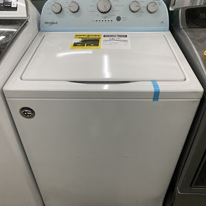 Whirlpool High Efficiency Top-Load Washer (White for Sale in Fort Lauderdale, FL
