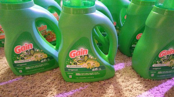 22 item GAIN Laundry Products Bundle