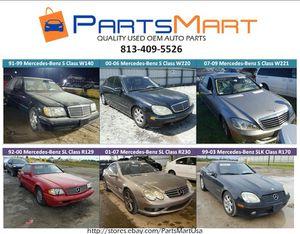 Mercedes-Benz S430 S500 SL500 SLK320 OEM USED PARTS for Sale for Sale in Tampa, FL
