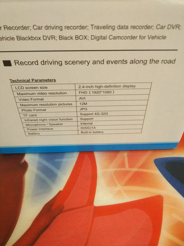 Vehicle blackbox a