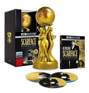 New Scarface 4k The World is Yours Limited Edition Movie for Sale in Chino Hills, CA