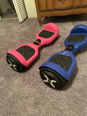 Barely used hoverboards both for $80 need gone today for Sale in DeSoto, TX