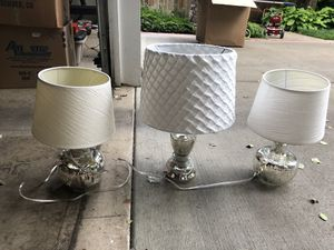 3 lamps for Sale in Lake Oswego, OR
