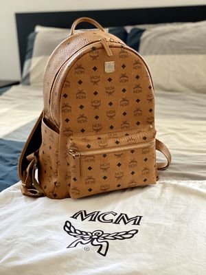 Authentic MCM stark visetos backpack brand new for Sale in Irvine, CA