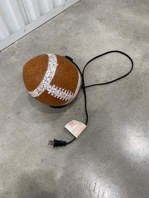 Football lamp for Sale in San Antonio, TX