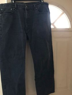 Black Levi's Jeans Mens Size Waist 40 Length 30 for Sale in Philadelphia,  PA